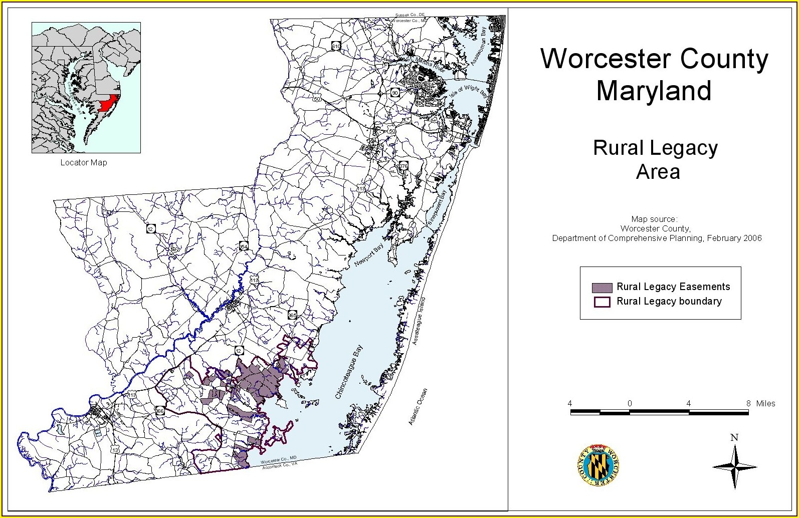 Worcester County Plat Maps