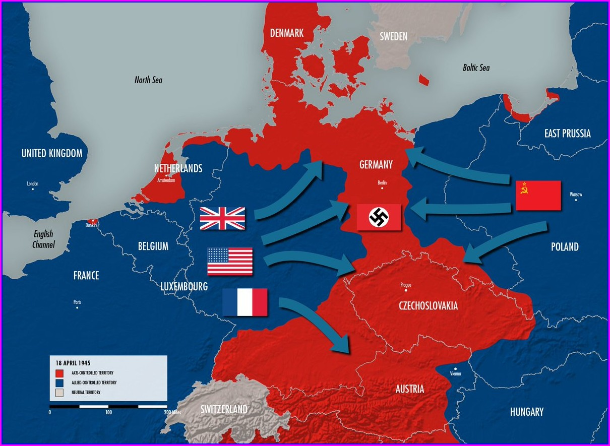 Ww2 Map Allies And Axis