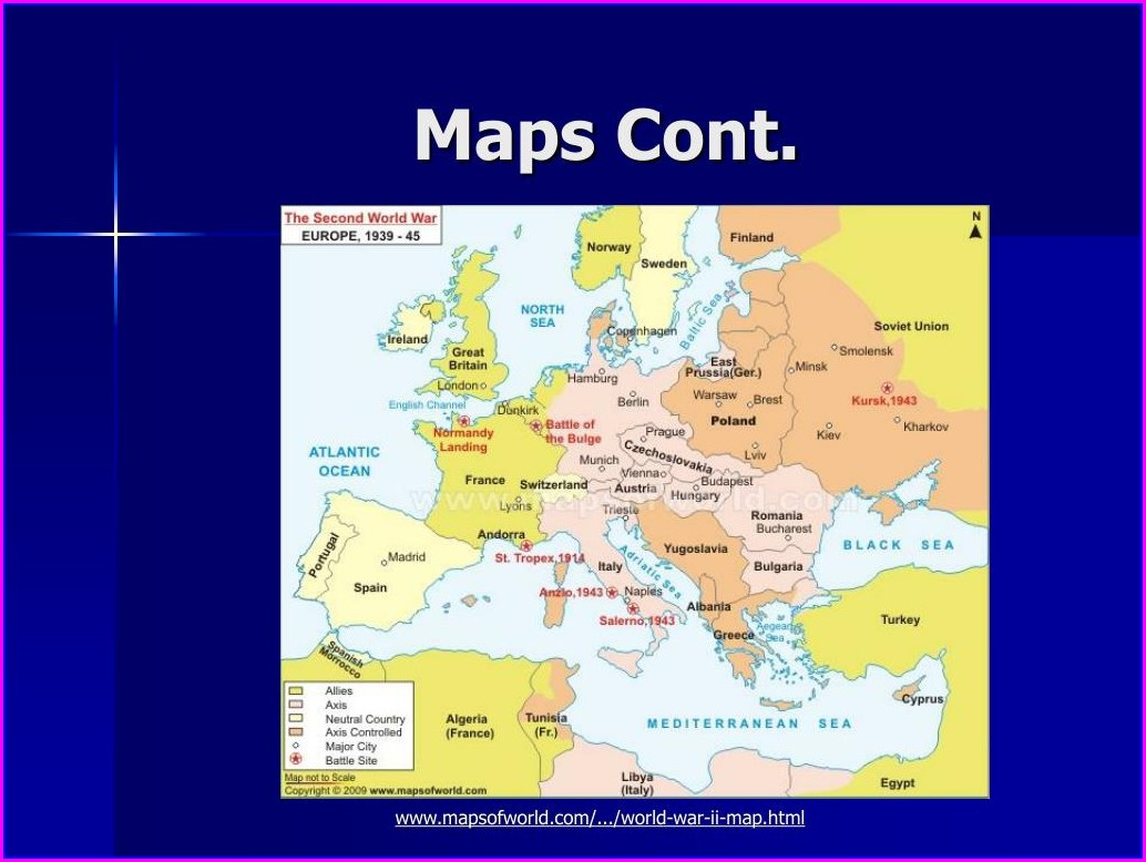 Ww2 Map Of Europe Allies And Axis And Neutral