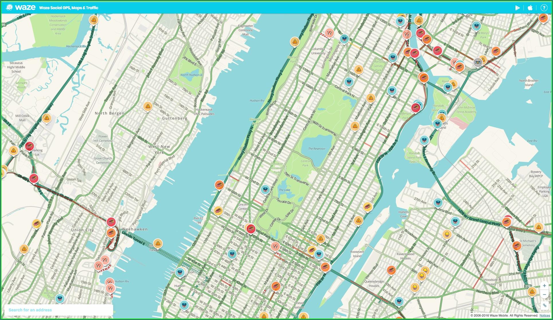 Www Waze Com Map