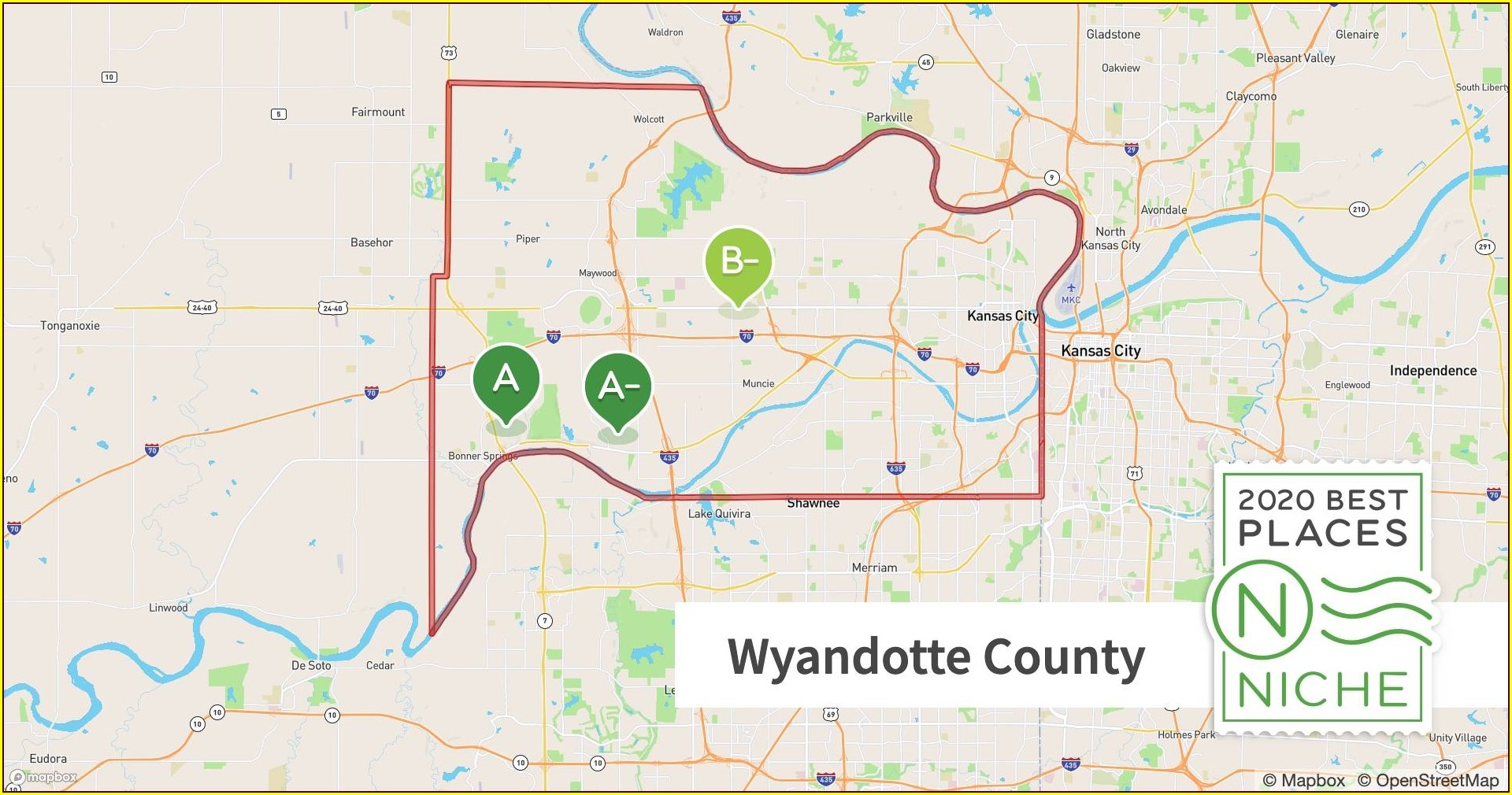 Wyandotte County Crime Map