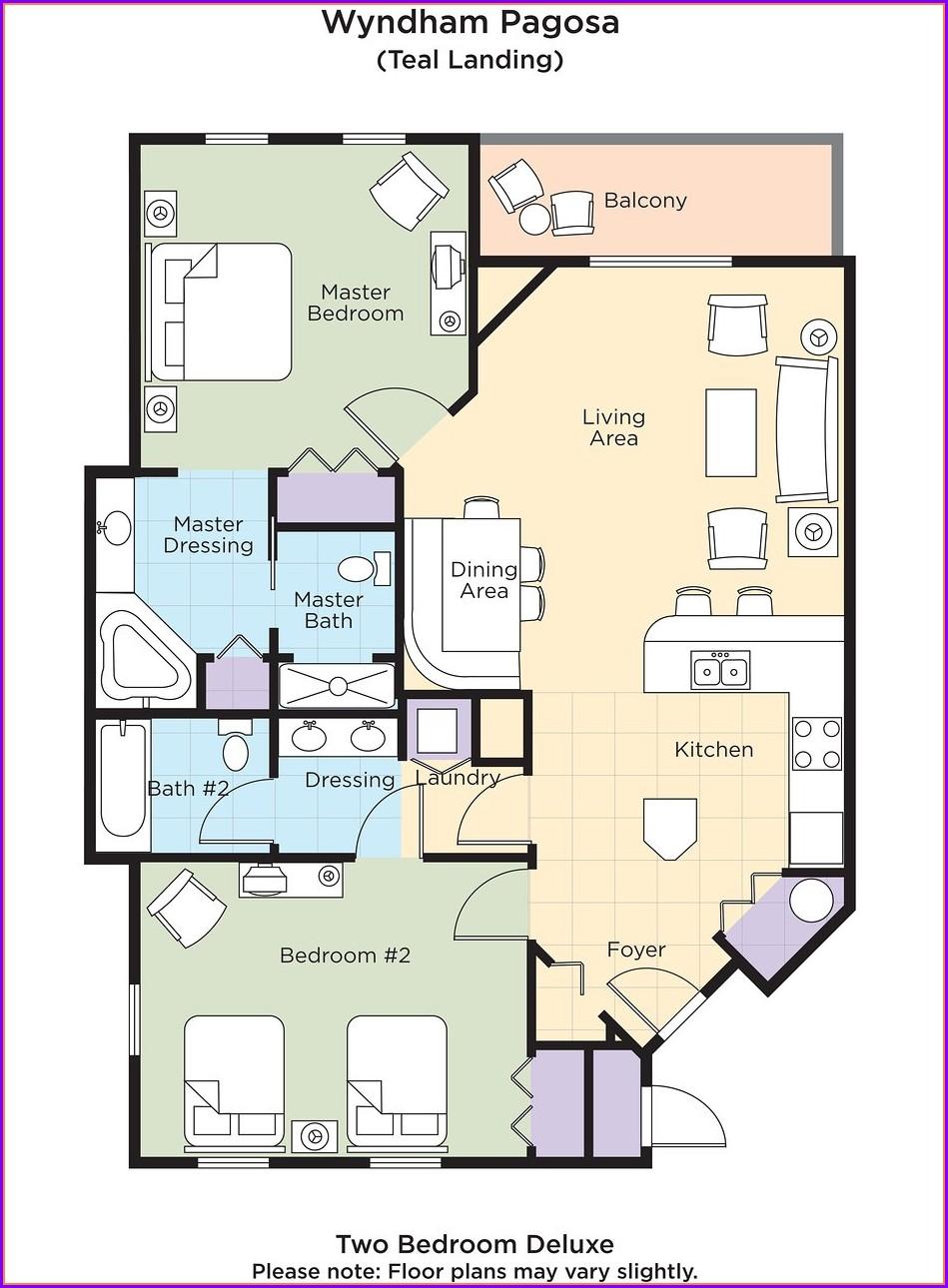 Wyndham Pagosa Springs Resort Map