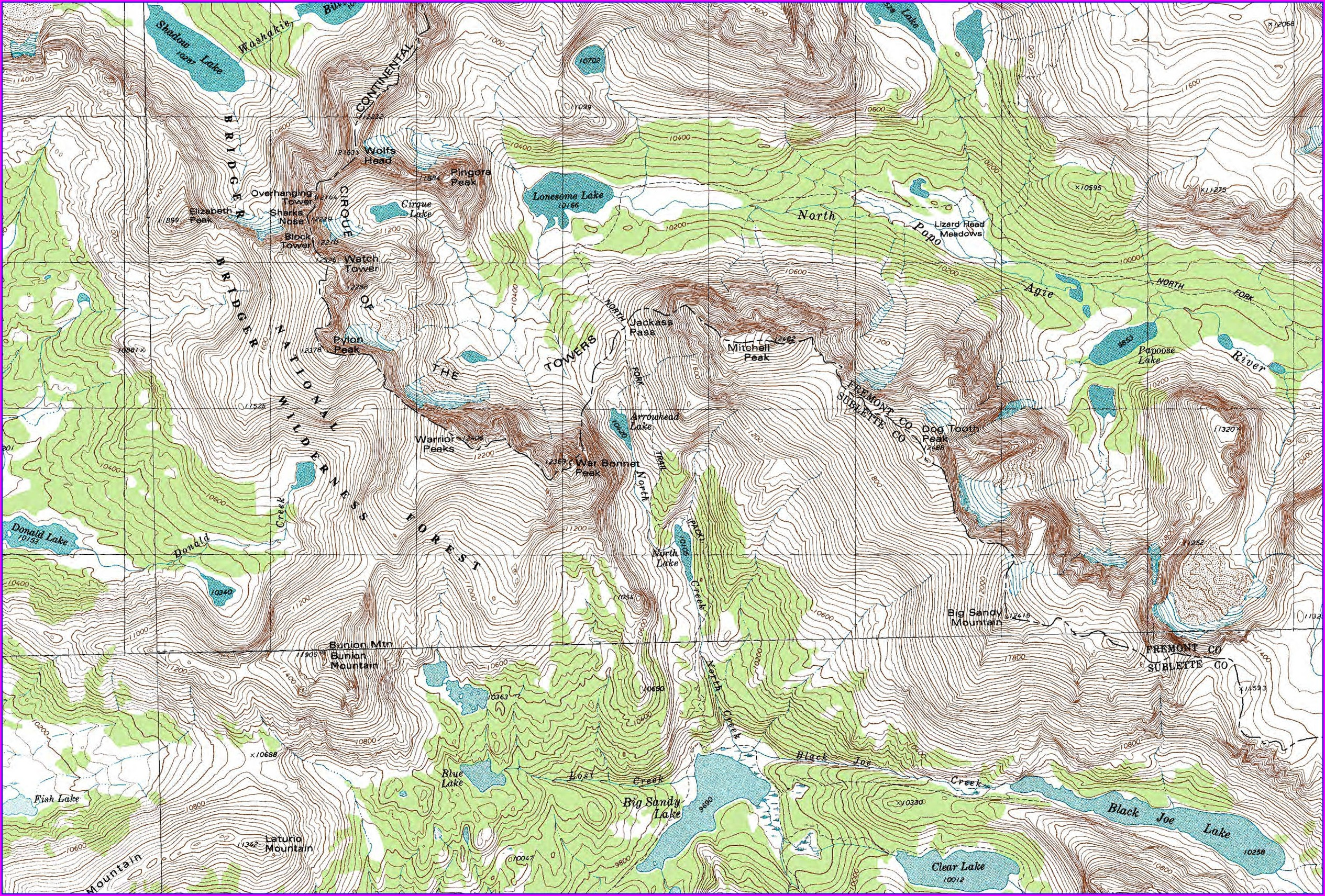 Wyoming Blm Maps Pdf