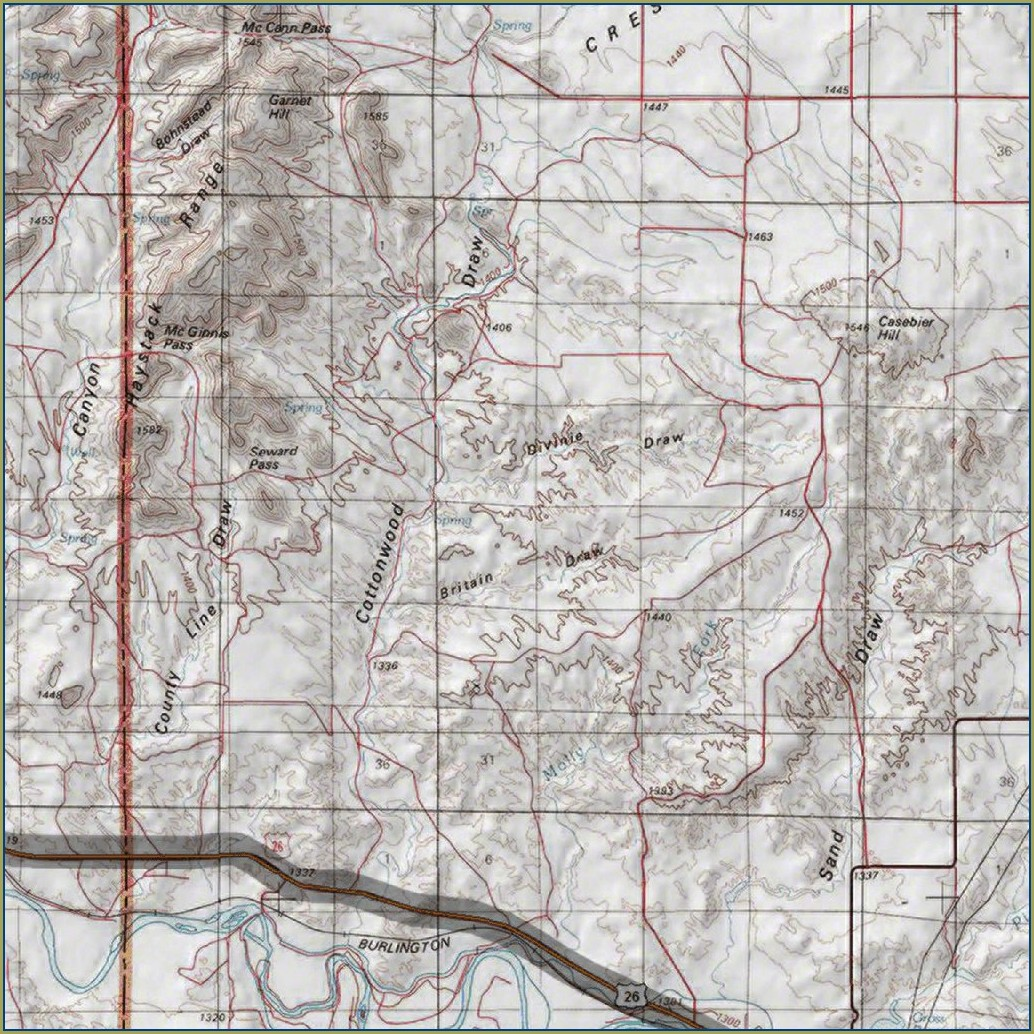 Wyoming Mule Deer Unit Map