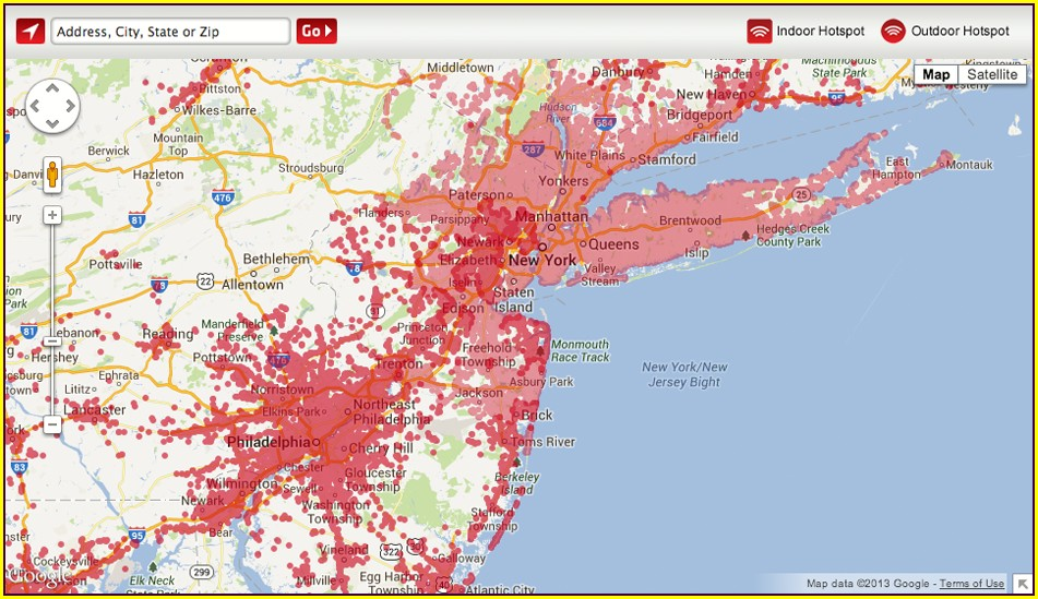 Xfinity Cell Service Map