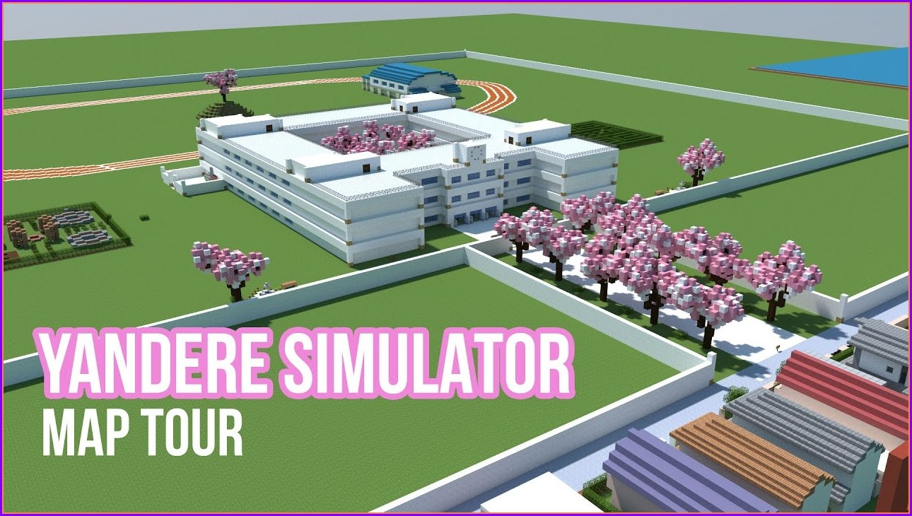 Yandere Simulator High School Minecraft Map
