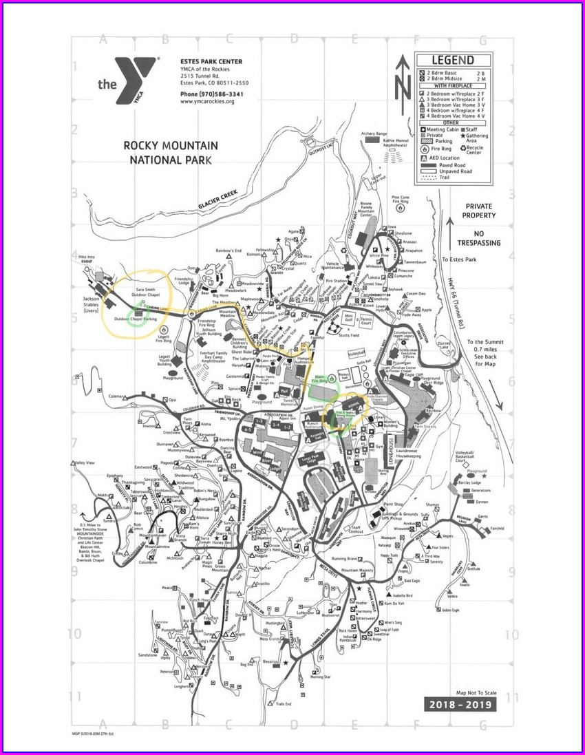 Ymca Of The Rockies Trail Map