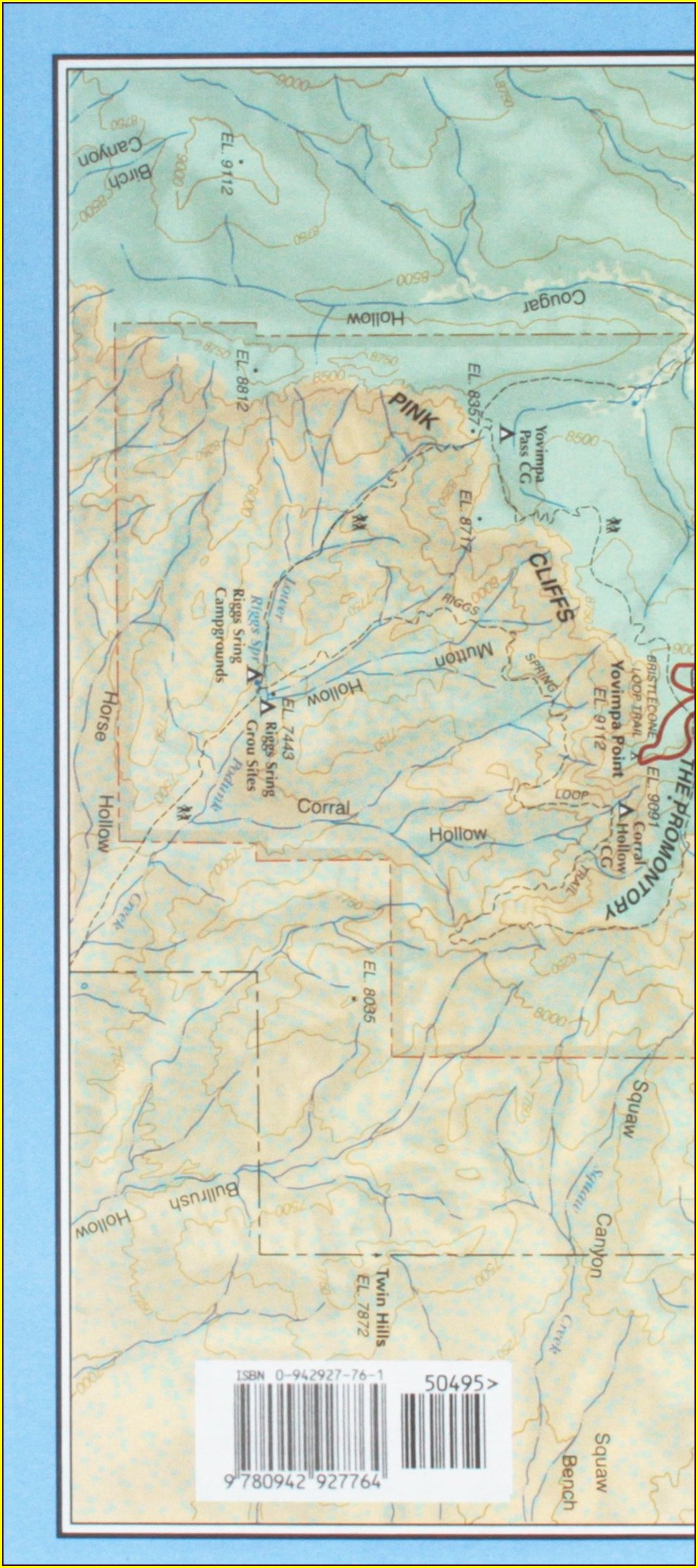 Zion And Bryce Canyon Map