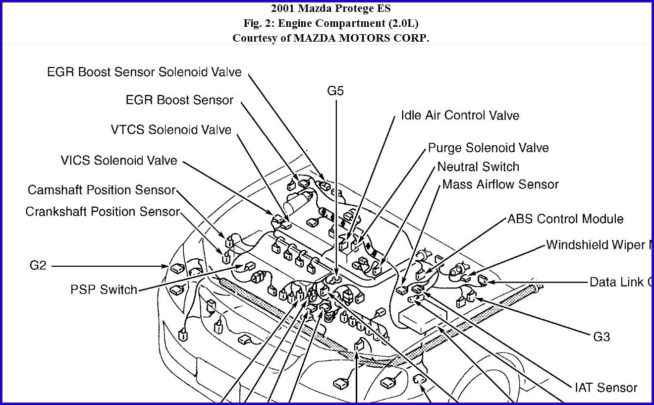2000 Mazda Protege Map Sensor Location
