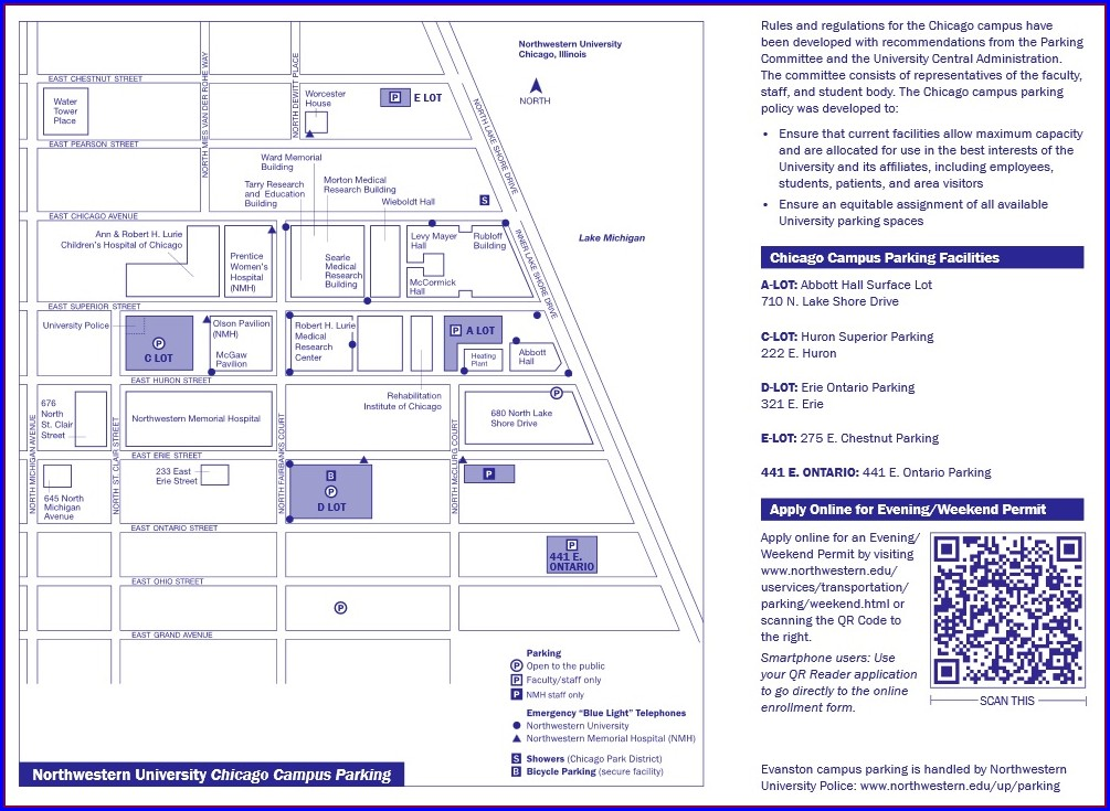 Abbott Northwestern Hospital Campus Map