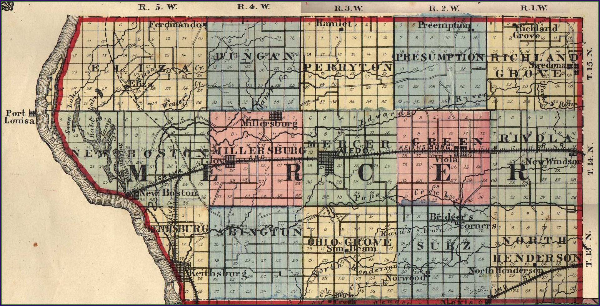 Adams County Il Plat Map