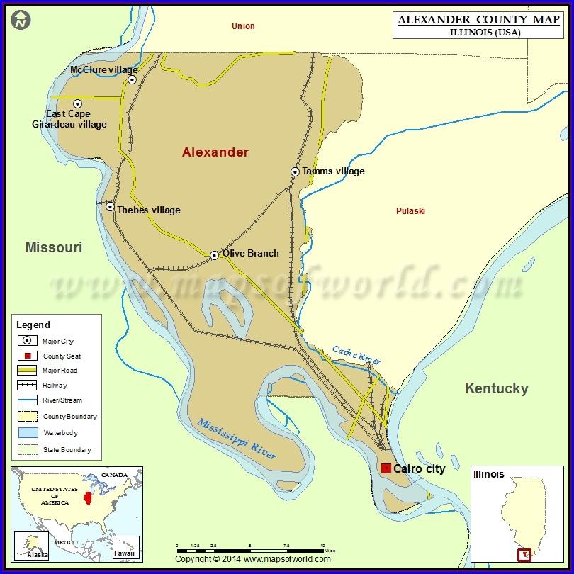 Alexander County Gis Map