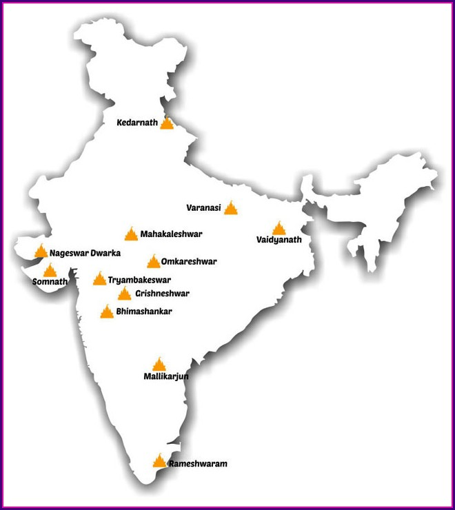 All Jyotirling In India Map