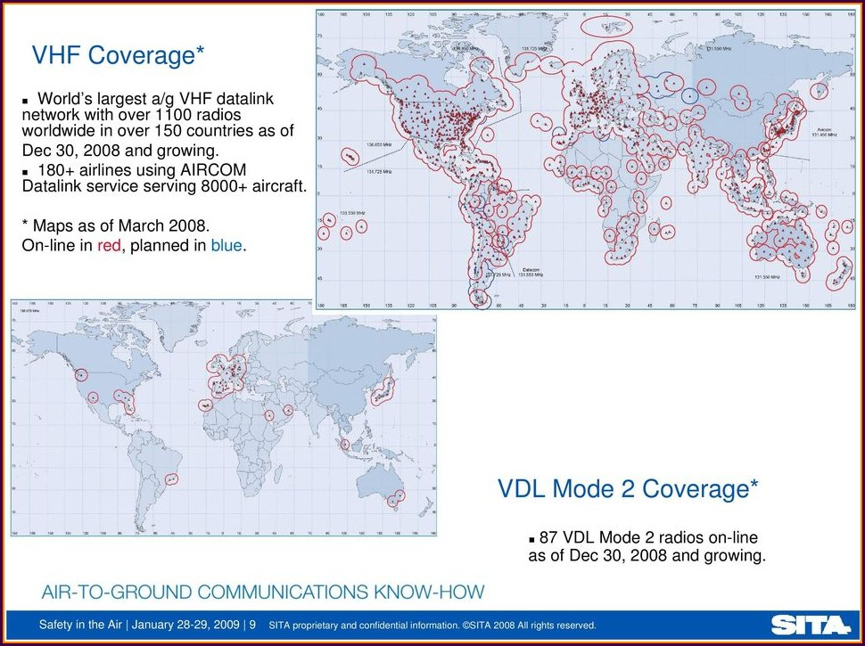 Arinc Acars Coverage Map