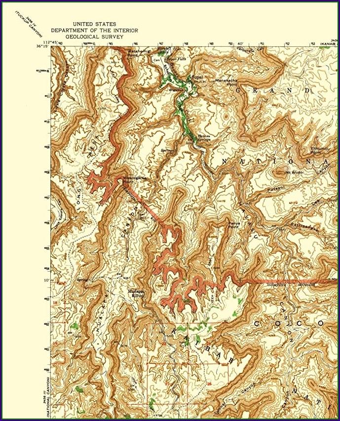 Arizona Usgs Topo Maps