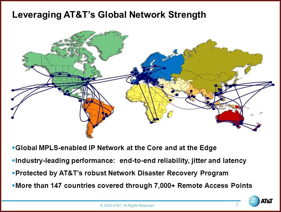 Att Mpls Network Map