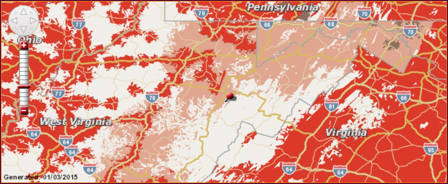 Att Wireless Coverage Map Wv