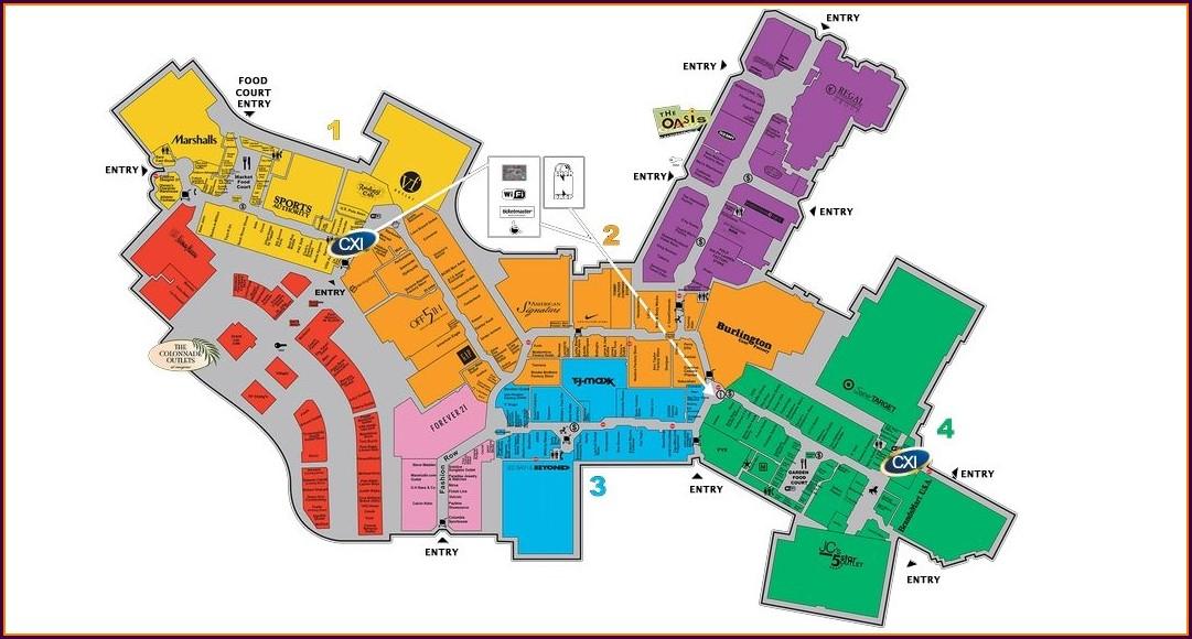 Aventura Mall Interactive Map