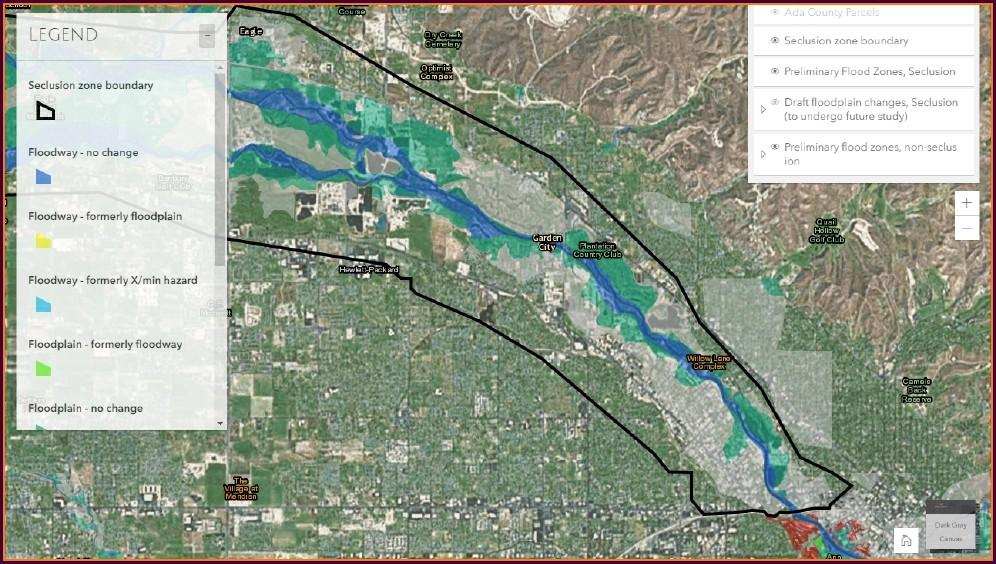 Boise Flood Plain Map