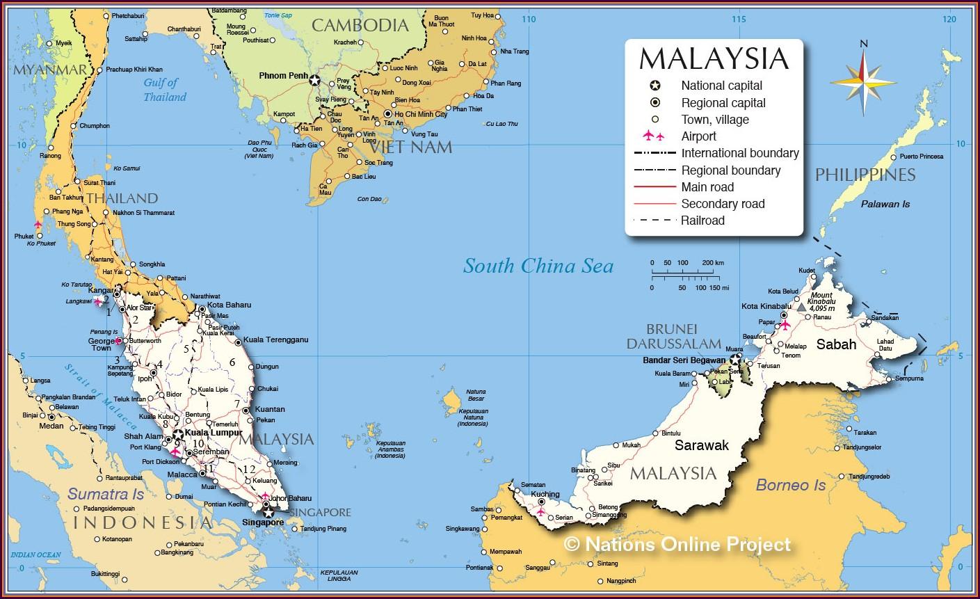 Borneo Malaria Map 2018