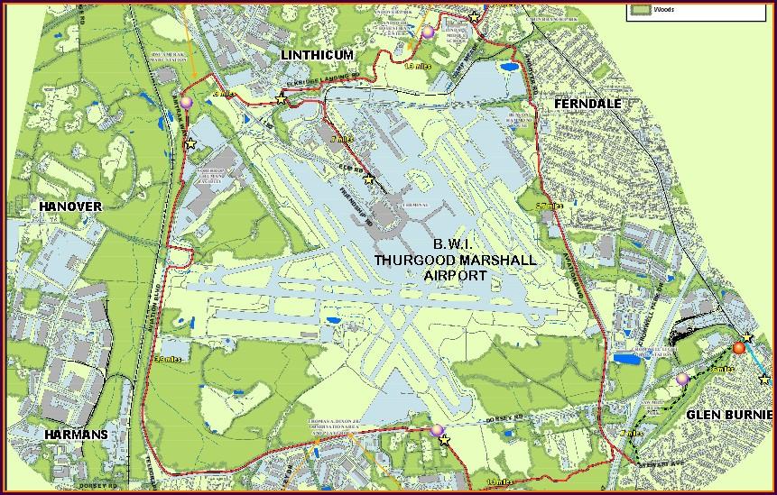 Bwi Bike Trail Map