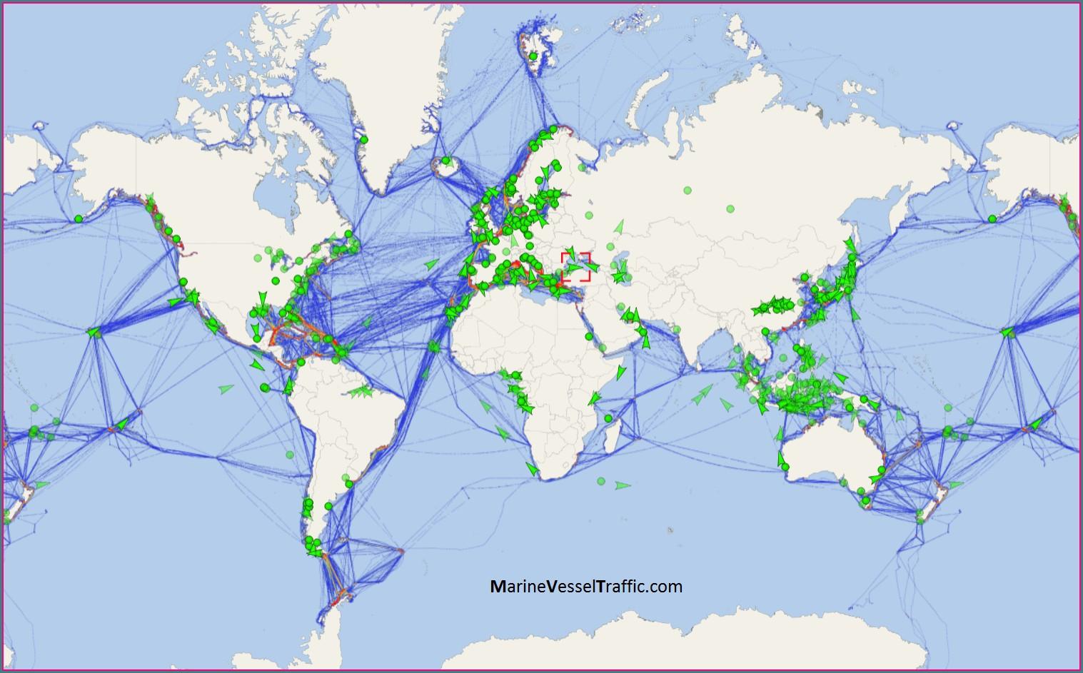 Carnival Cruise Ship Mapper
