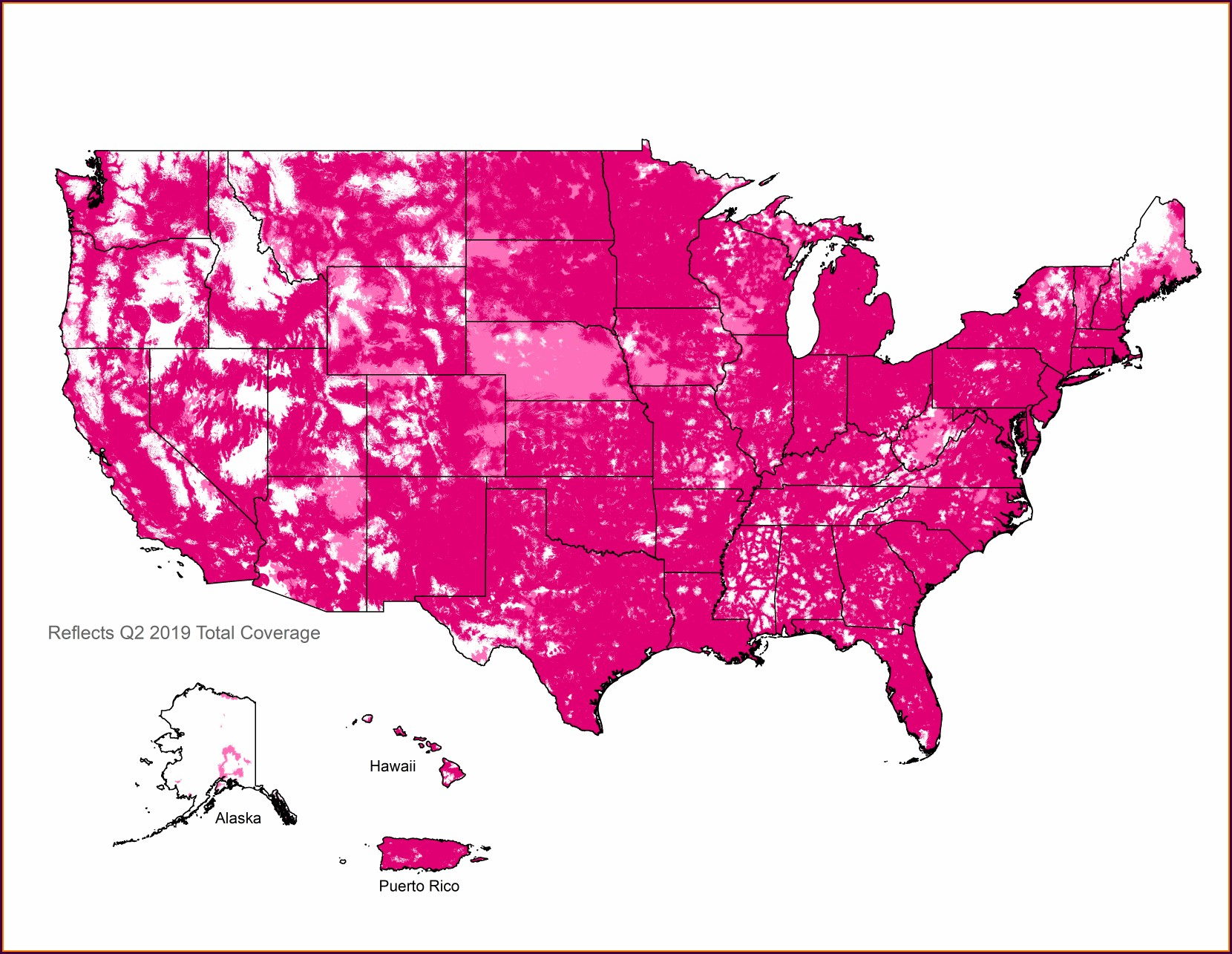 Carolina West Wireless Coverage Map