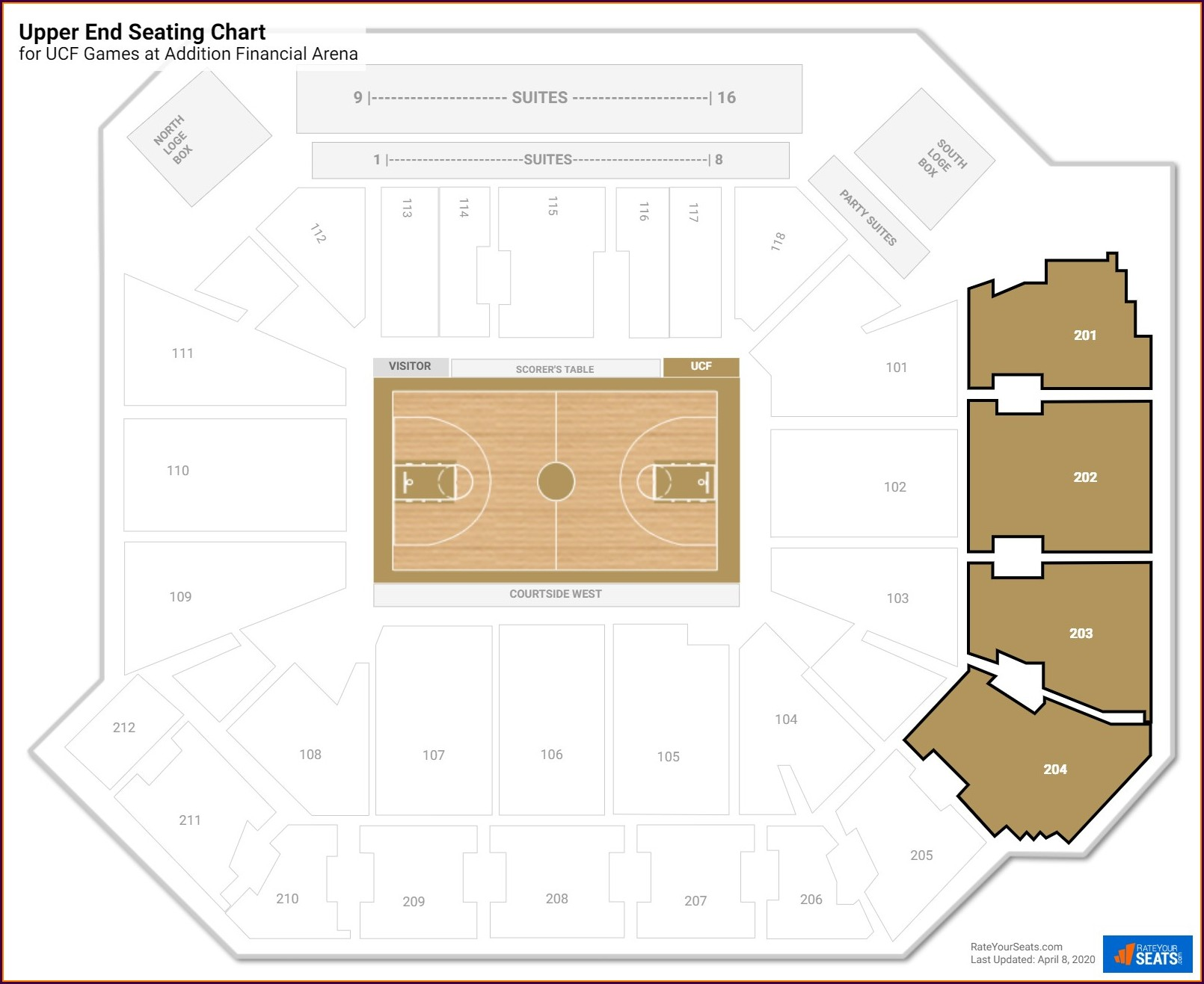 Cfe Arena Seating Map