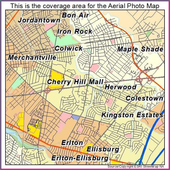 Cherry Hill Mall Nj Map