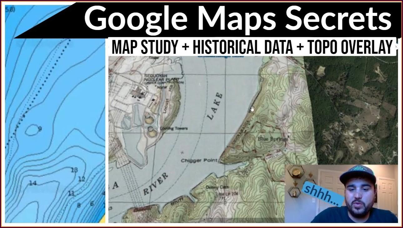 Chickamauga Lake Navigation Map
