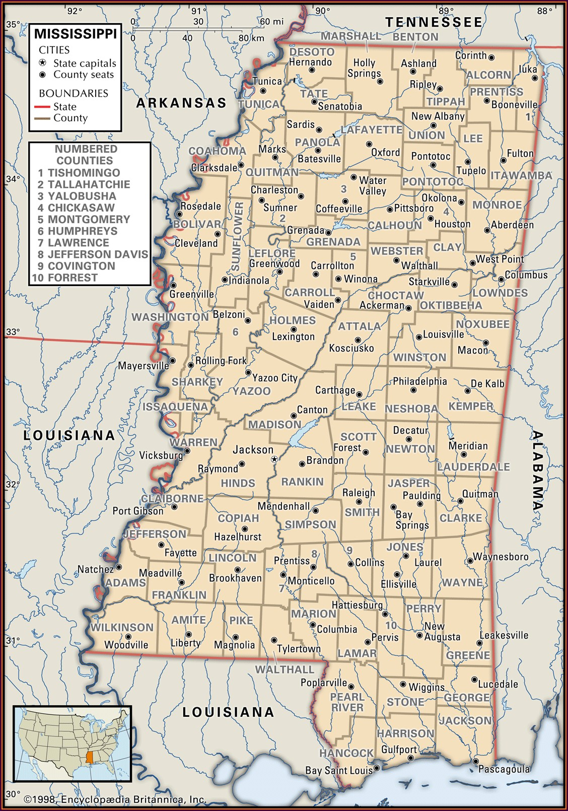 Clarke County Ms Plat Map
