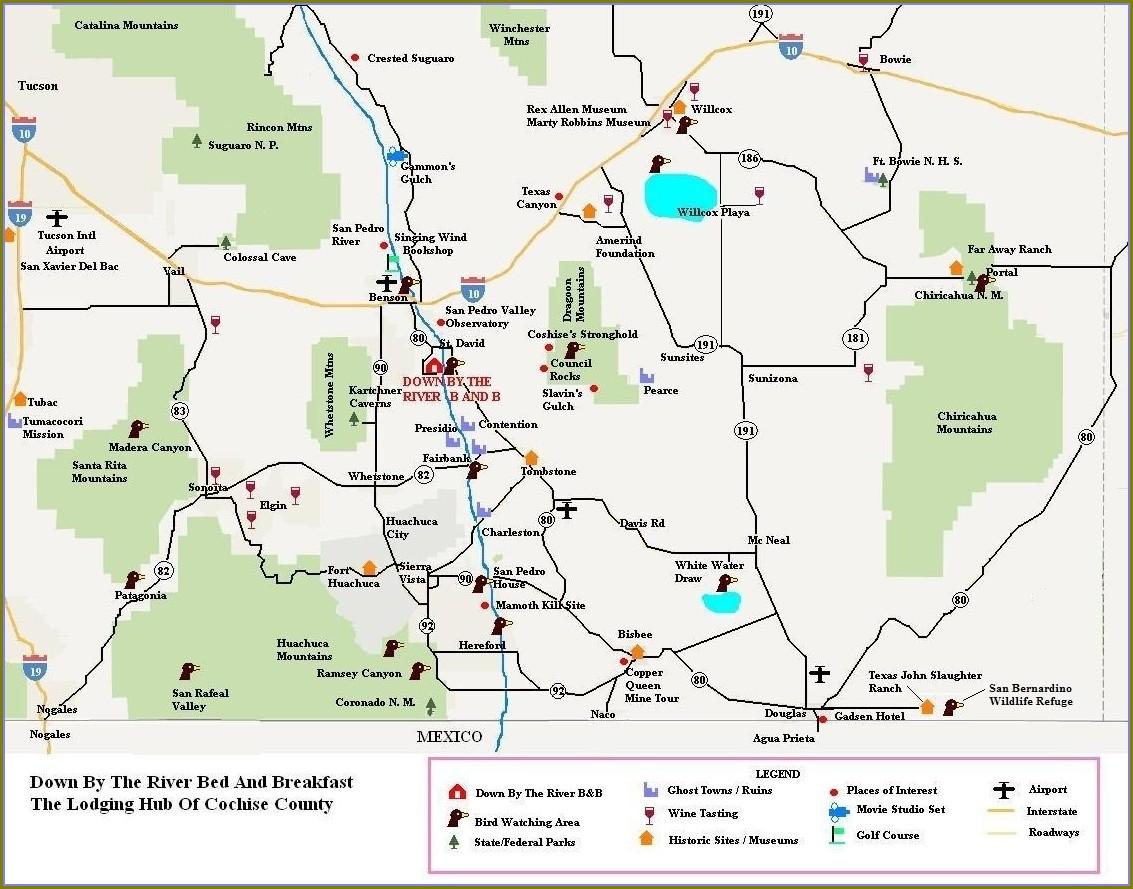 Cochise County Tax Lien Map