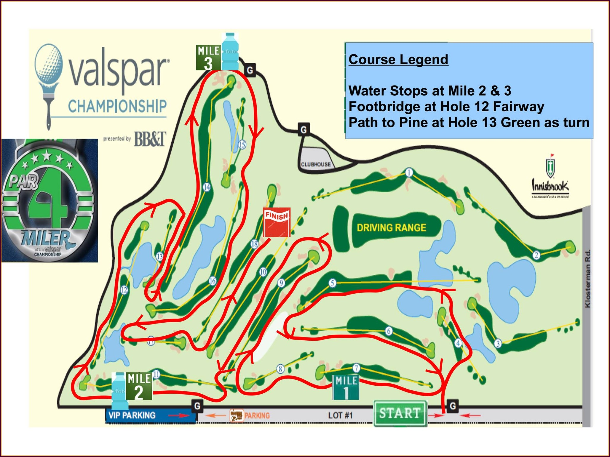 Copperhead Golf Course Map
