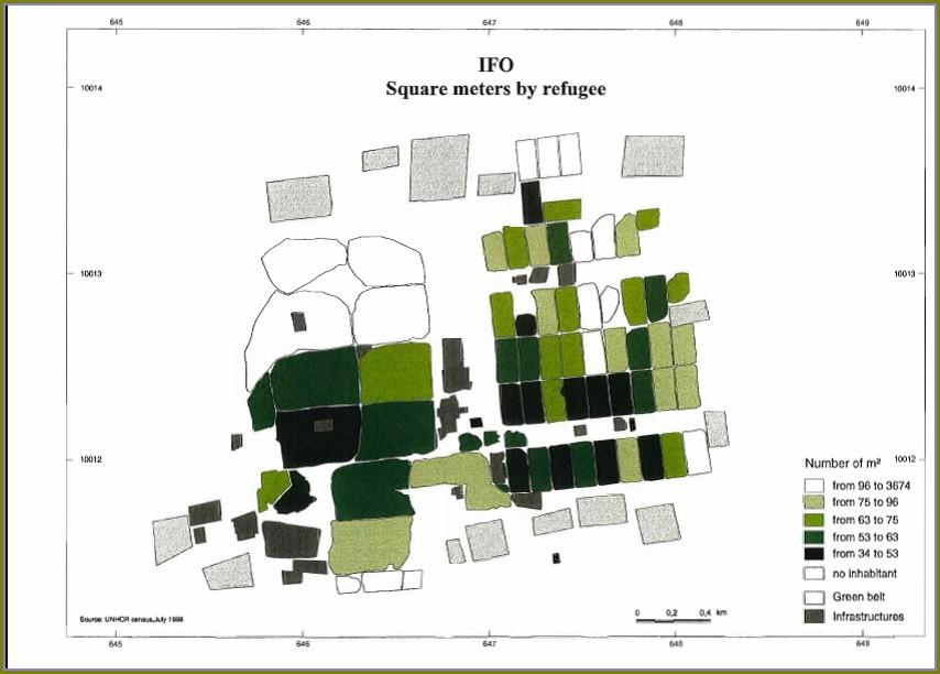 Dadaab Refugee Camp Map