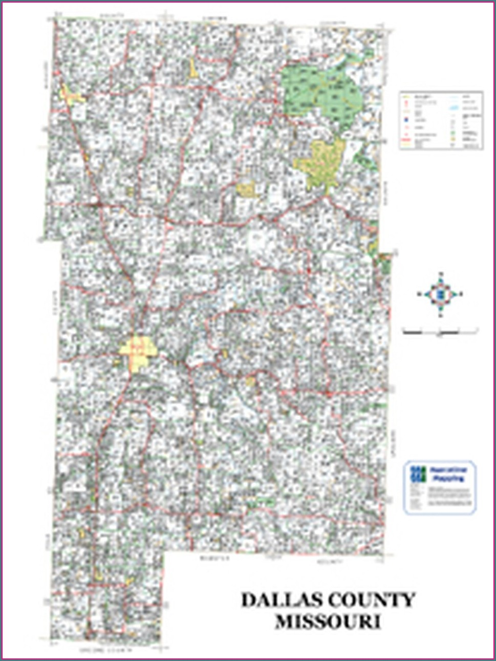 Dallas County Mo Plat Map