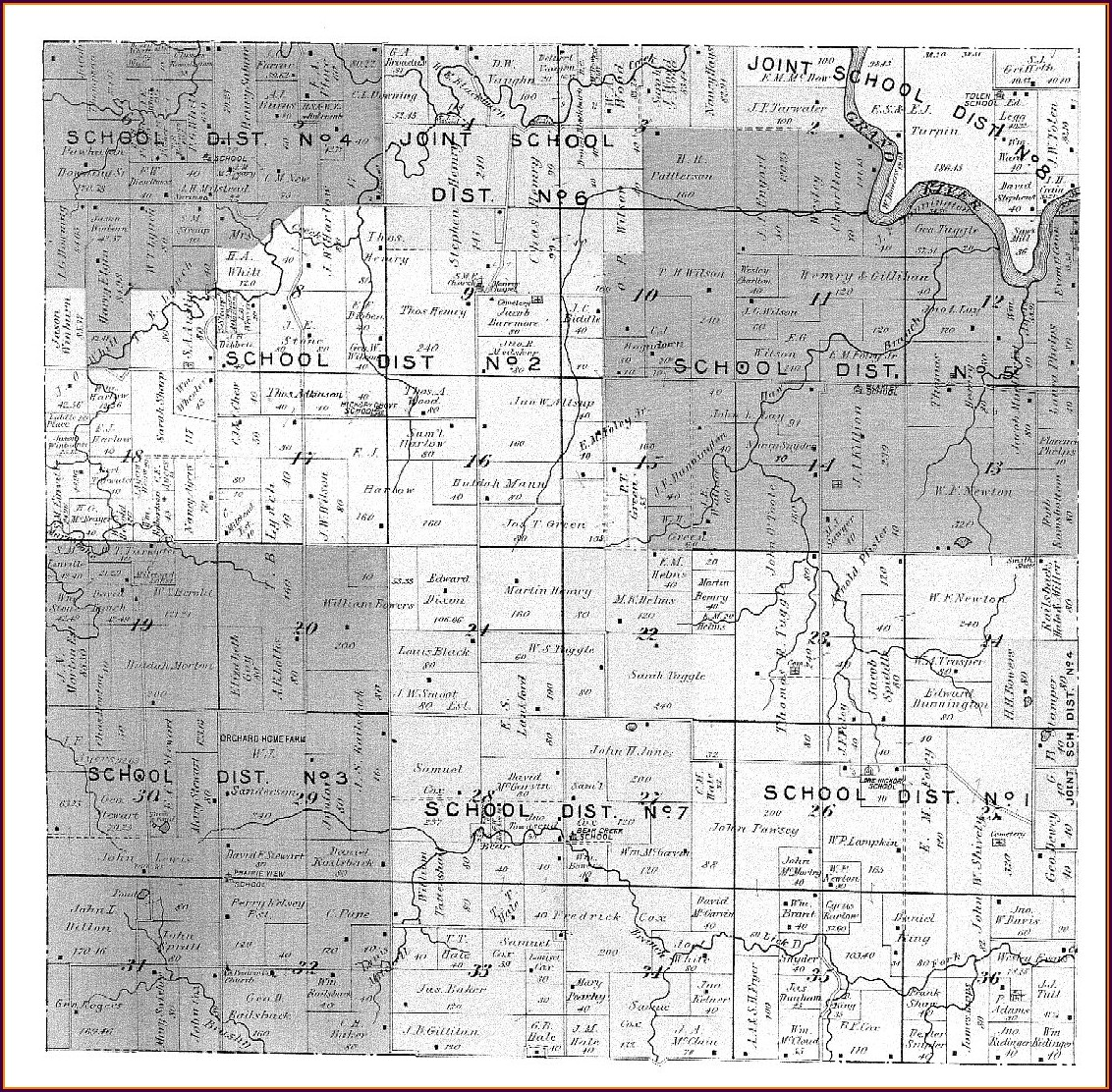 Daviess County Missouri Plat Maps