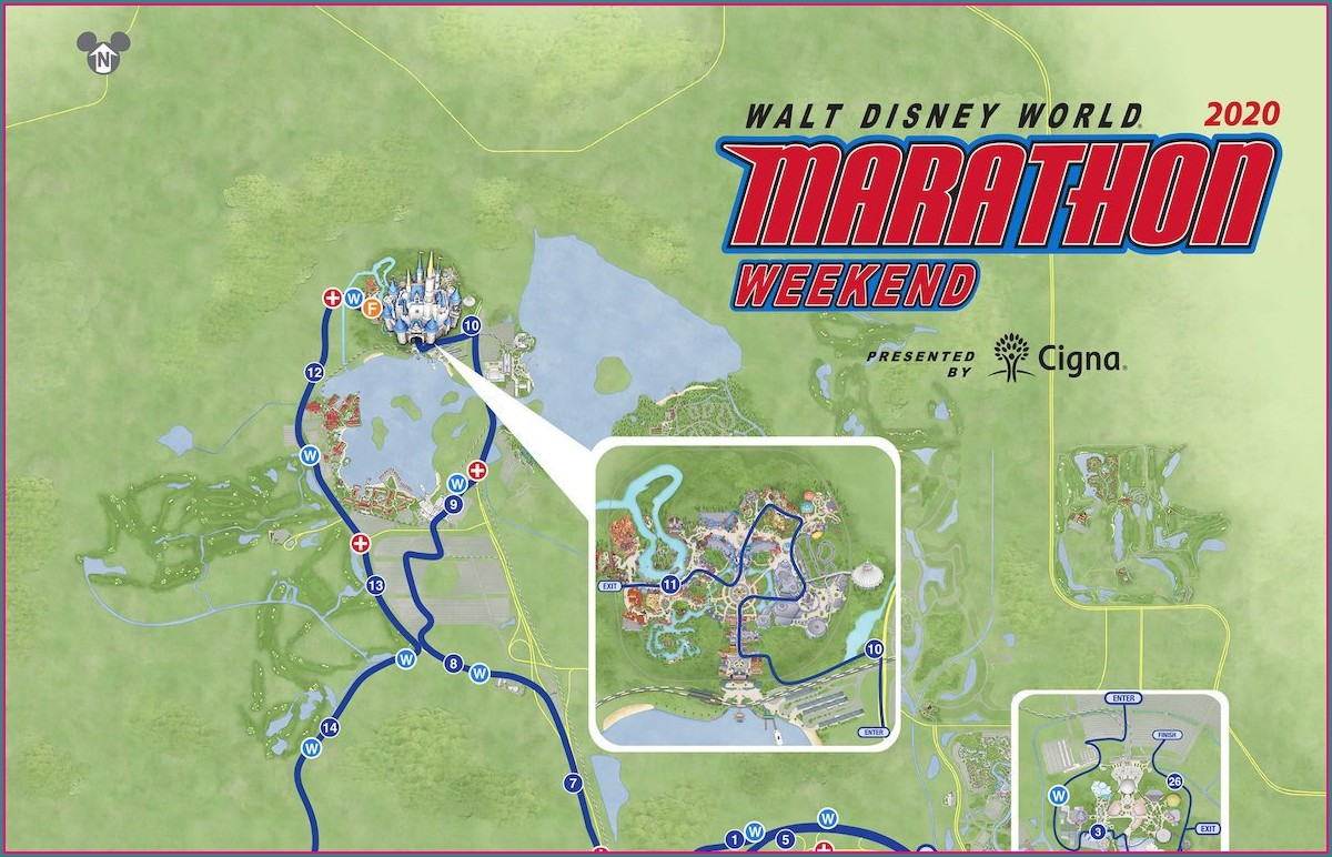 Disney Hollywood Studios Park Map 2019