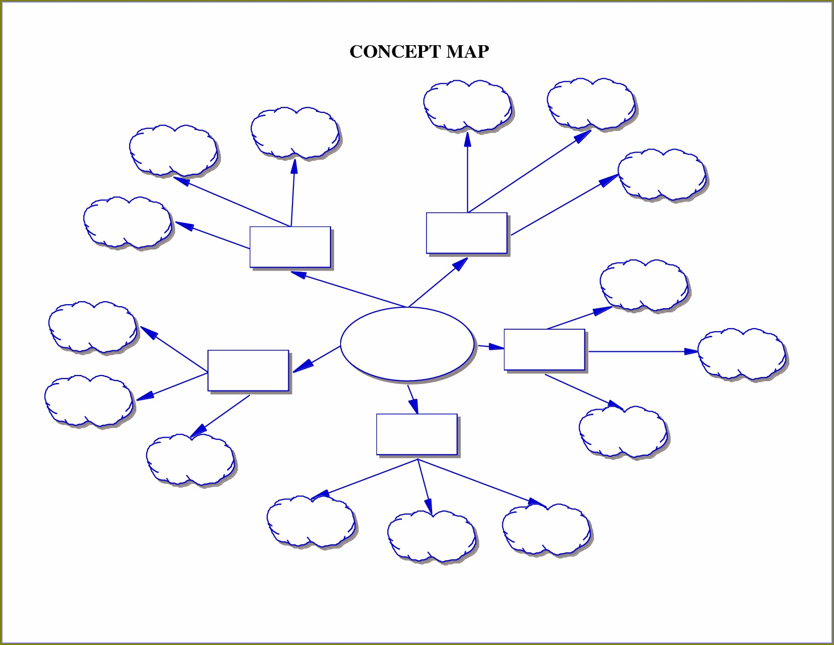 Downloadable Free Concept Map Template