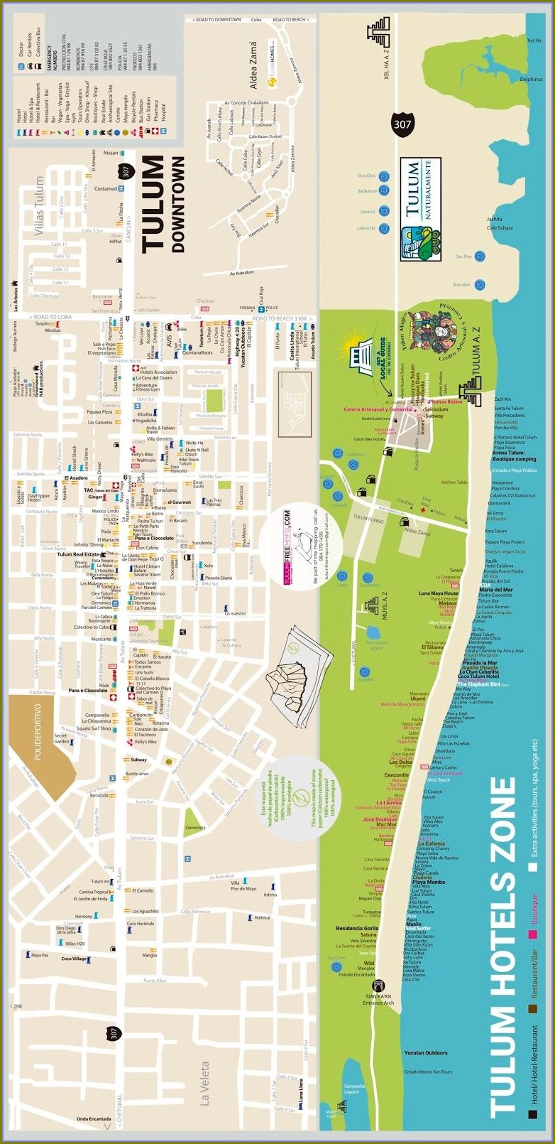 Dreams Tulum Map Pdf