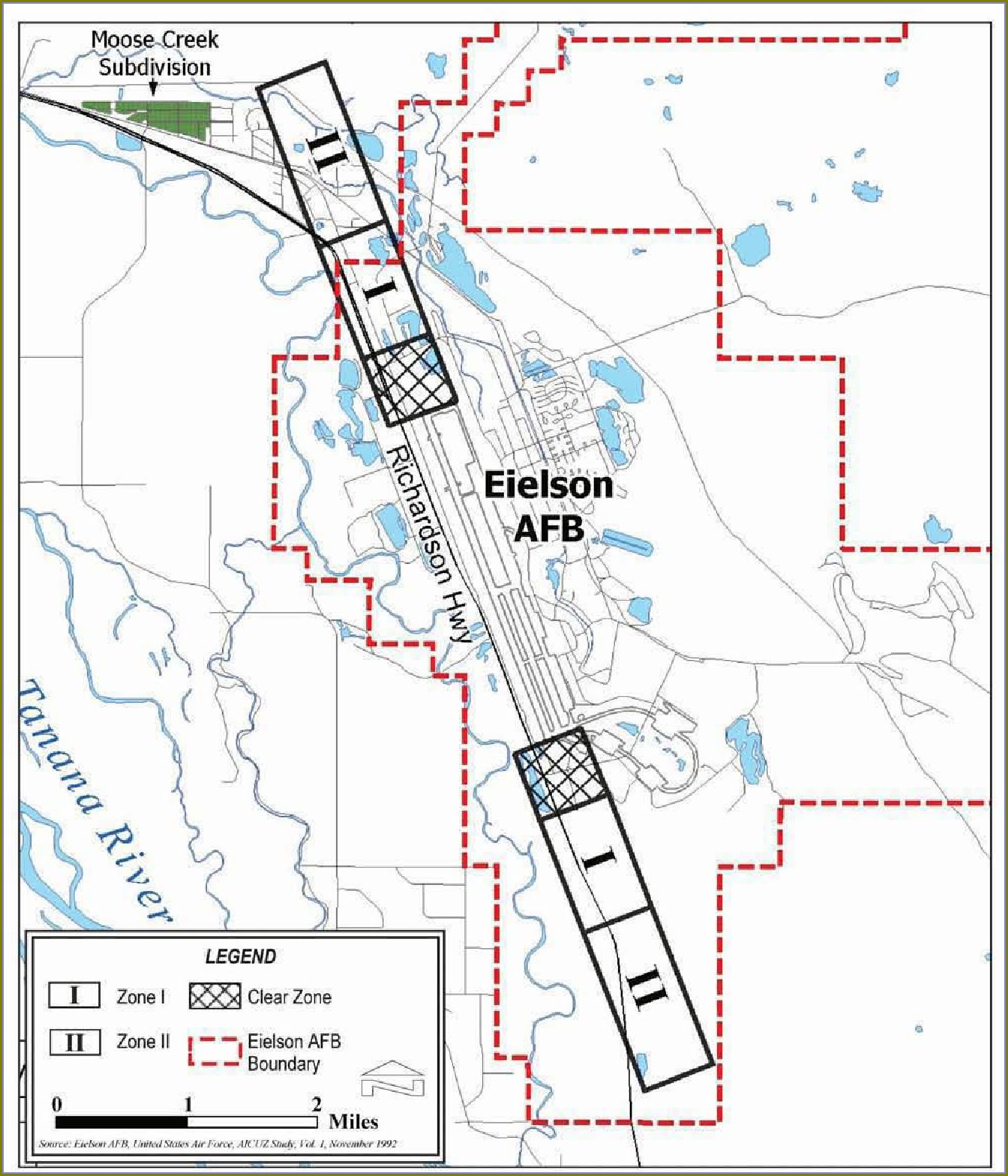 Eielson Afb Building Map
