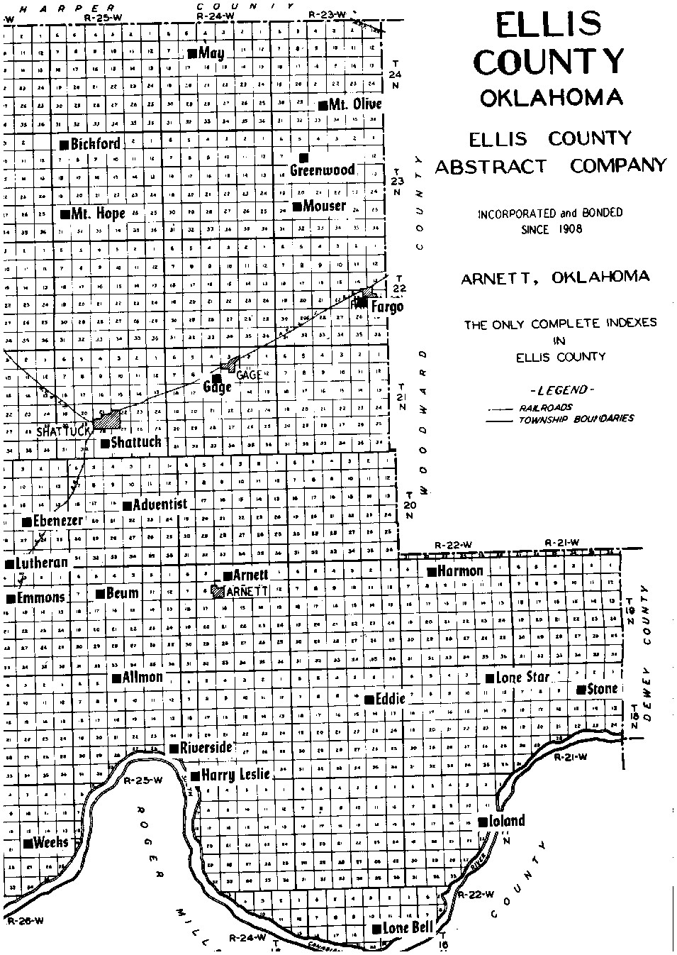 Ellis County Plat Maps