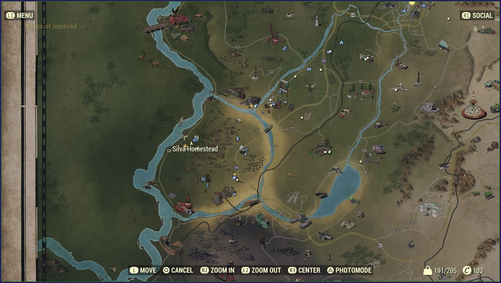 Fallout 76 Power Armor Locations Map