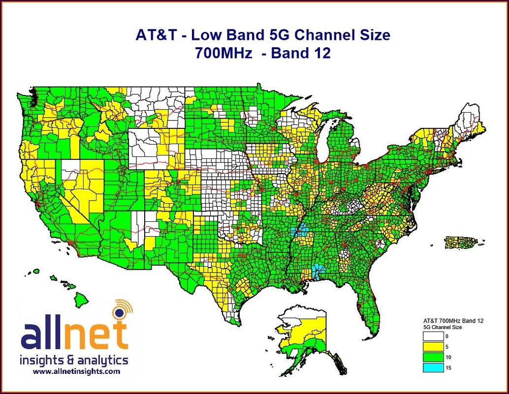 Firstnet Band 14 Map