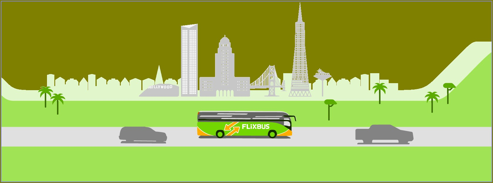 Flixbus Route Map California