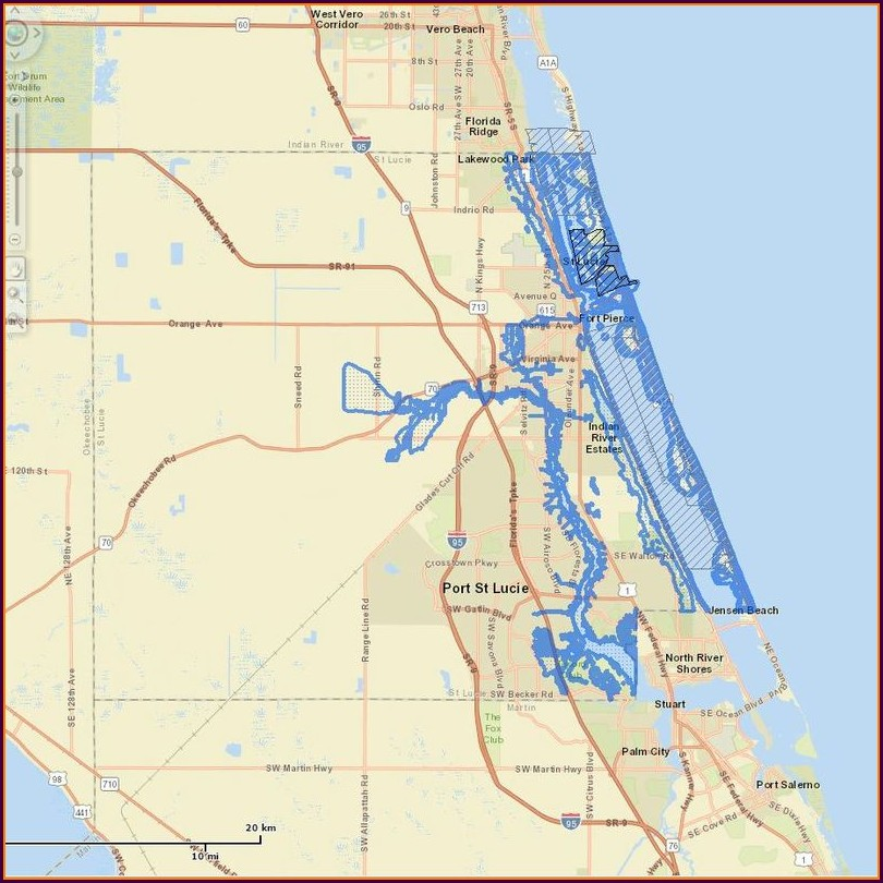 Flood Zone Map Port St Lucie Florida