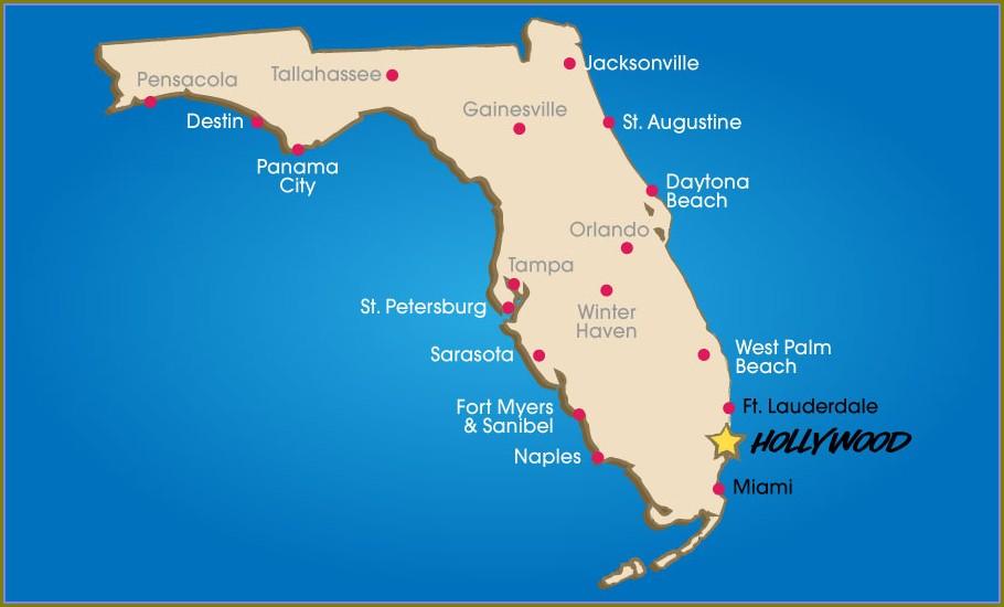 Florida Map Trackid Sp 006