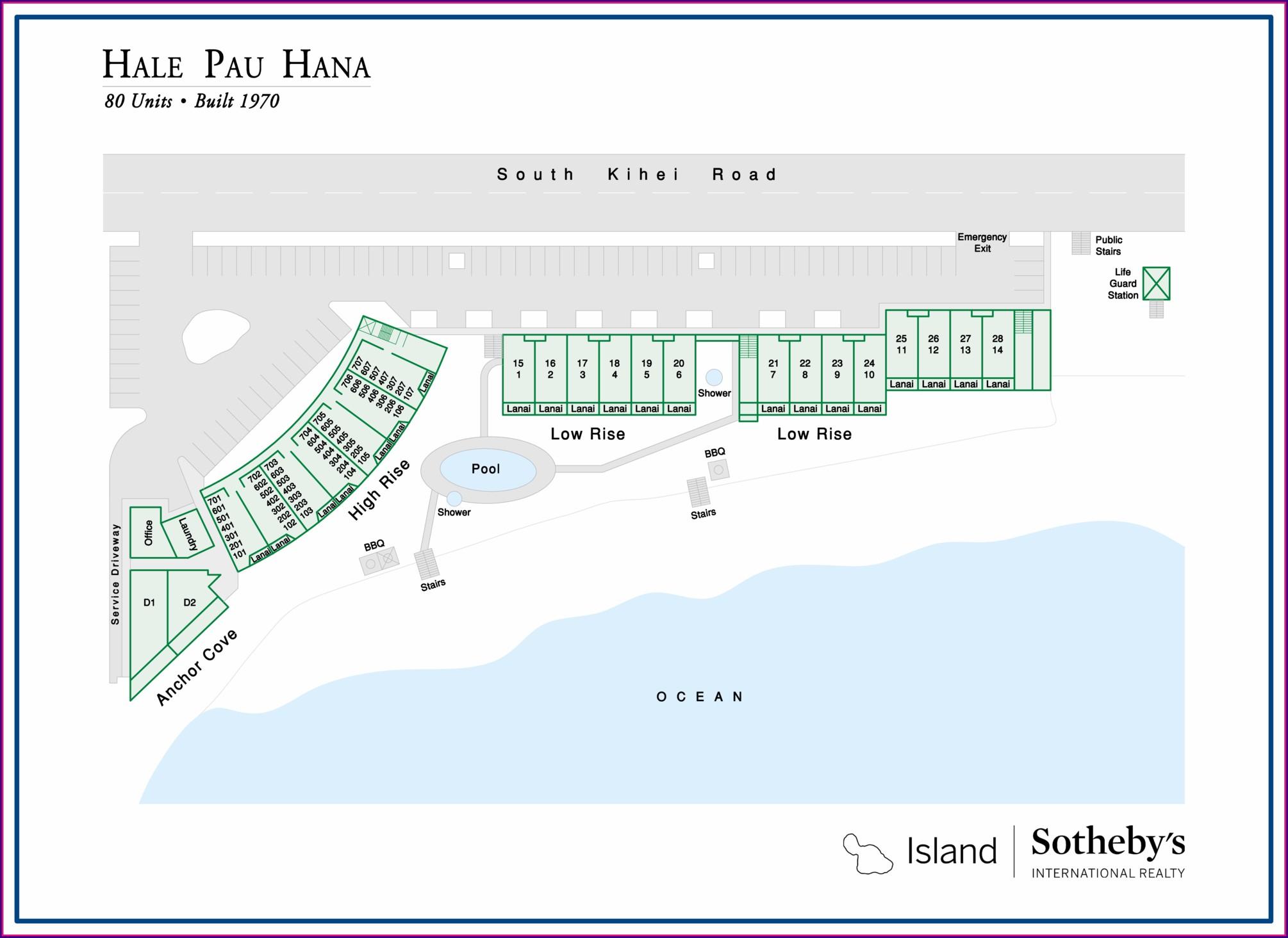 Hale Pau Hana Map