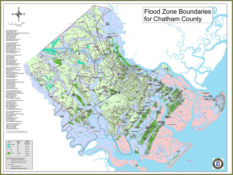 Hinesville Ga Flood Map