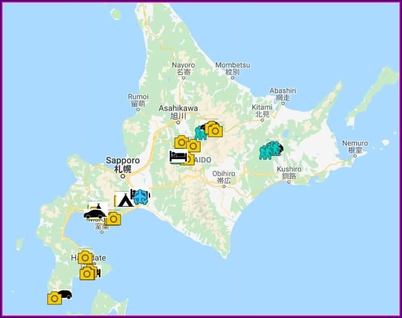 Hokkaido Driving Map Pdf