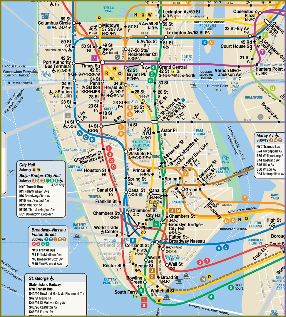 Hopstop Nyc Subway Map